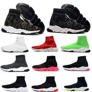 Balenciaga Sock shoes Luxury Brand formateur Sock Chaussures Casual Chaussures Homme Chaussures Femme Designer High Mid Noir Rouge Fashion Luxe Plate-forme Chaussure
