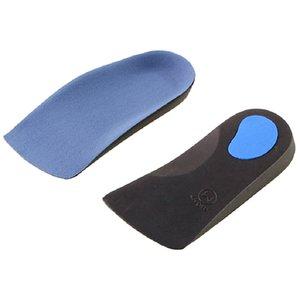 1 пара EVA плоскостопие Ортопедии Arch поддержка Половина обуви Pad Стельки для ног Уход Женщины Массажные Ударопоглощение Стельки