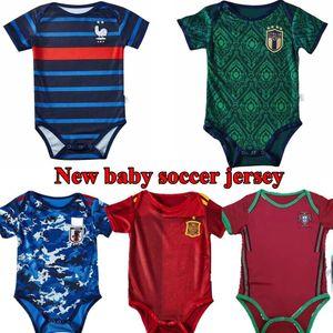 2020 2021 스페인 아기 축구 유니폼 이탈리아 일본 아이 키트 포르투갈 축구 셔츠 (20) (21) 아르헨티나 저지 멕시코 camisas 드 Futebol 팀