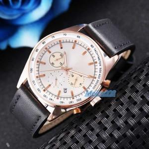 Nuovo arrivo Tutti Montres orologio Ar Subdials lavorazione del cuoio cronografo sportivo orologi di moda di lusso del vestito dz Casual Male pour hommes