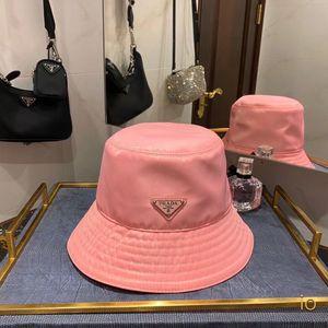 P concepteur seau chapeau deux couleurs dame chapeau seau de haute qualité vente chaude chapeau design noir