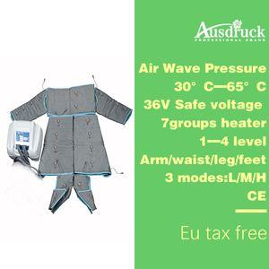 EU tax free Heat Pressotherapy air wave pressure Slimming Detox fat loss machine body wrap fast slim beauty equipment ES600