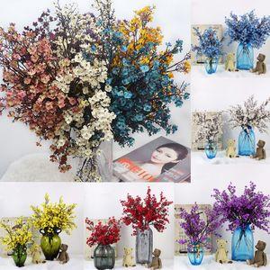 1шт Гипсофила Atificial цветок домашнего декора 4 цвета в наличии Красивая гостиная декор вечеринку фестиваль поставки
