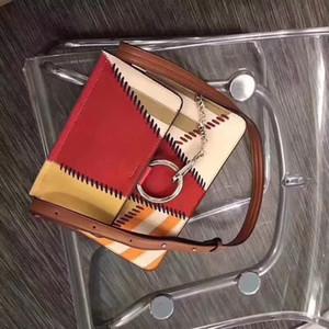 Designer-2019 heiße Verkaufsfrauen echte Leder-Qualitäts-Handtasche Dame aus echtem Leder Umhängetasche Kuh lederne Schulterbeutel freies Verschiffen