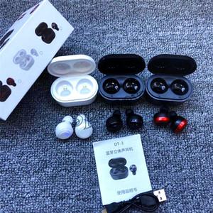 Venta caliente DT3 TWS DT3 Deportes invisible auriculares sin hilos V5.0 Bluetooth con carga magnética del Audífonos para teléfonos inteligentes 50pcs