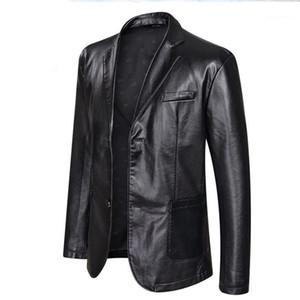 Casual monopetto Abbigliamento Cappotti giacca designer 5XL 6XL Taglie Giacche in pelle Mens Big PU