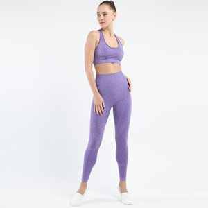 Gym 2 Piece Set Workout Clothes For Women Sports Bra And Leggings Set Sports Wear For Women Gym Clothing Athletic Yoga