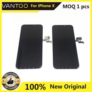 100% di visualizzazione originale OEM LCD con riparazione Touch Screen Digitizer Assemblea completa Cellulare parte per l'iPhone X XR XS MAX