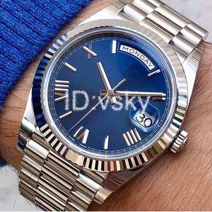 Luxury Mens Watches DAY-DATE Automatic Mens Watch Mechanical Wristwatches Rose Gold Designer Watches Daydate Watch Wristwatch