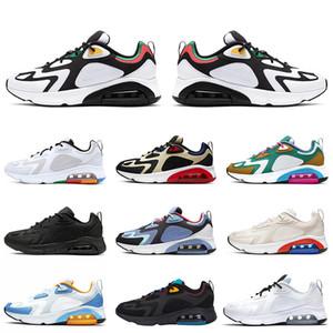 2019 almofadas novas Running Shoes 200 Bordeaux por Homens brilhante carmesim Místico verdes 200s Ouro Branco tampão Mens Formadores Sneakers Tamanho 40-46