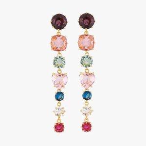 2020 Amybaby Handmade Designer de jóias facetada colorido Crystal Glass Womens Colar Brinco Pulseira Anel para o partido