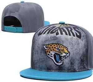 Proyecto On-Stage Jacksonville sombrero Gorras casquette del snapback del sombrero de béisbol Gorra Plana-ala Equipo Tamaño Strapback bola Cap manera clásica 00