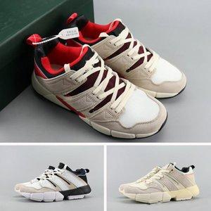 2019 Vendita calda Nord America Europa Asia Cuscino EQT 2 PUSHA T Primeknit Nero Bianco Rosso Scarpe sportive Sneakers Uomo Riple Scarpe da corsa