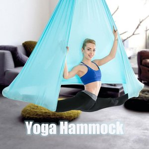 Anti-gravity Aerial Yoga Ceiling Hammock Flying Swing Trapeze Yoga Inversion Device Home GYM Hanging Belt Hammock Kit Aeria