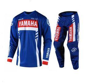 YAHAMA off-road sürüş uymak yaz uzun kollu pantolon spor takım elbise açık takım sürme yarış yeni motosiklet