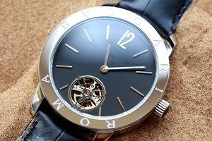 Мода бутик мужские часы с импортной высокого класса пользовательские цветок маховик механизм с автоподзаводом. Верхний минеральный Кристалл износоустойчивое стекло mirr