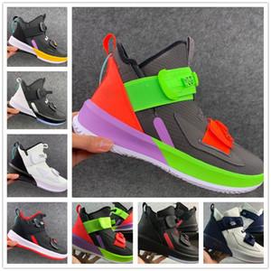 ¿Qué lebron 13 zapatillas de baloncesto para hombre LMTD Gris Navidad BHM Azul Pascua Halloween Akronite Blanco Rojo DB zapatillas de deporte