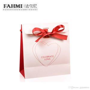 FAHMI Original Charm Ring Bracelet Earrings Charming Necklace Handbag Storage Protection Bag Jewelry Atmosphere Fashion Women's Gifts
