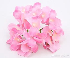 Имитация головы гортензии удивительный красочный декоративный цветок для свадебного торжества роскошный искусственный шелк гортензии DIY flower decoration GA523