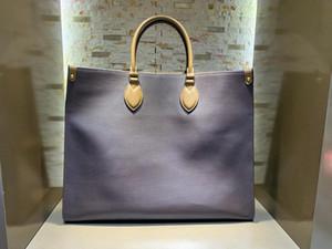 Mode großen Namen OnTheGo Lederbrieftasche Dame Handtasche Klassische Umhängetasche Frau Schulterbeutel der großen Kapazität B019 Einkaufstaschen mit Box