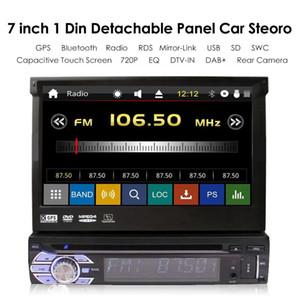 "Wince 7 "" Car Radio 1 Din Autoradio Car Stereo Auto Bluetooth Audio DVD Video Mp4 MP5 Player GPS Multimedia"