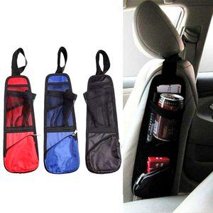 Car Seat Side Back Storage Bags Organizer Multi Pocket Holder Bag Backseat For Stowing Tidying Auto Seat Side Bag