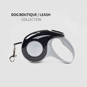 The new dog walking artifact can be stretched and retracted pet traction rope dog traction rope running automatic contraction