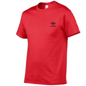 Дизайнерская мужская летняя футболка Street Wear Europe Paris Fashion мужская высококачественная хлопковая футболка ADA, повседневная женская футболка