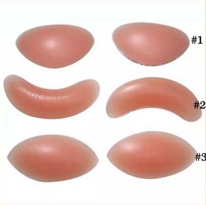 Silicone Insert Pads Women Push Up Bra Pads Breasts Up Enhancer Padded Bikini Swimwear Invisible Pad 2pcs pair Maternity Intimates OOA8145