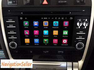 Android 9.0 PX5 OCTA CORE RAM 4G ROM 32G 2DIN 7.0 pollici Car DVD Player per Porsche Cayenne 2003-2010 Canbus Wifi GPS BT audio radio