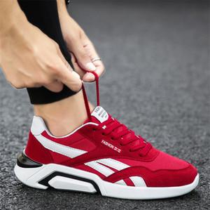 Vendita calda 2019 con la scatola traspiranti scarpe da ginnastica del commercio estero di esplosione modelli scarpe di tela gli studenti all'aperto scarpe da uomo caldi di fabbrica