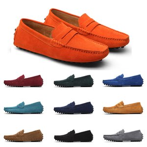 2020 Large size 38-49 new men's leather men's shoes overshoes British casual shoes free shipping Espadrilles twenty-three