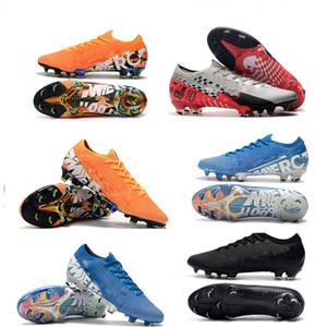 Hot Men Exquisite Mercurial vapori Xiii Elite Fg Cr7 Ronaldo Neymar NJR Shhh 13 360 Low caviglia Calcio Football Formato dei pattini 39-45