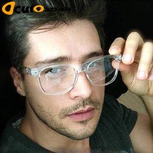 2019 Retro Glasses Reading Male Frames PC Spectacle Comotuer Platz Brillen für klare Frauen-transparente Brillen Objektive Herren Halmd