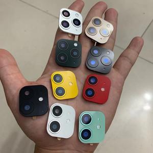 الإصدار 2 ينطبق على ابل اي فون X XS MAX XR تغيير الثانية إلى 11 غطاء كاميرا برو عدسة لفون برو 11 MAX عدسة حلقة ملصق التعديل