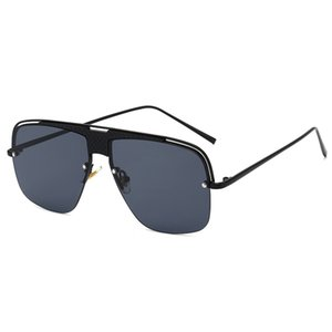 Quadro Oversized Sunglasses para as Mulheres Gradient Vintage Sun Glasses Luxo Gradiente Sunglasses Men Eyewear UV400 Lentes De Sol