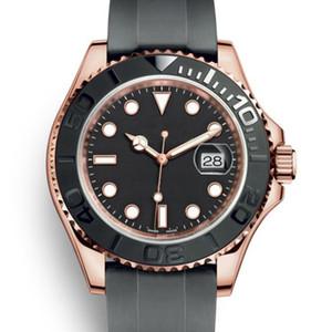패션 고무 로즈 골드 여성 남성 마스터 기계 자동 이동 여성 GMT 남성 다이아몬드 태그 시계 손목 시계 시계 사람
