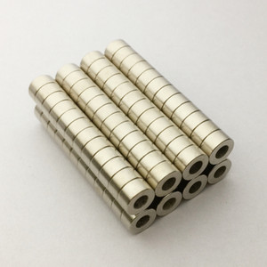 100pcs Dia6-dia3x3mm hole 3mm Small Round NdFeB Neodymium Disc Magnets N50 Super Powerful Strong Rare Earth NdFeB Magnetic