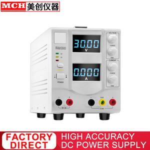 العرض عالية الدقة الخطي DC الطاقة 30V 2A 3A 5A قابل للتعديل 5V 2A الناتج ثابت DC وائح هيئة التيار الكهربائي 302DB 303DB 305DB
