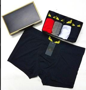 19SS Designer Caleçon Homme Mode sexy Designer Boxeurs Court Homme Cueca Homme Boxeurs Underpants 5pcs.