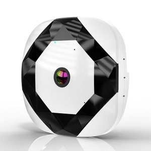 Интеллектуальная камера видеонаблюдения Беспроводной Wi-Fi 360 градусов обнаружения электронная кошачий глаз панорамная сетевая камера Удаленный монитор