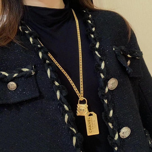 Hot sale new arrival padlock pendant necklace for women wedding jewelry gift free shipping PS4249