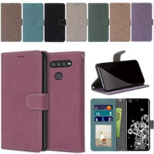 Retro Matte Wallet Leather Case For Huawei NOVA 6 SE 7 PRO P40 LITE E Honor V30 30 PRO 30S 9A Play 3 4T Enjoy 10E 10S Flip Stand Photo Cover