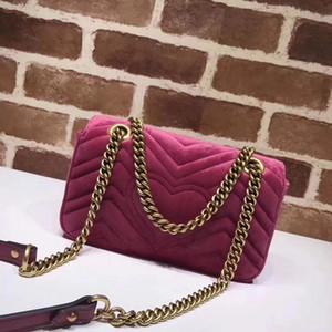 2018 NOVO CHEGADA bolsas de luxo mulheres sacos de designer pequeno mensageiro Sacos de veludo feminina bolsa de veludo menina