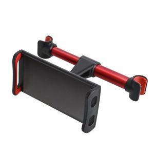 자동차 후면 베개 전화 홀더 다기능 게으른 회전 차량 좌석 머리 받침 돌아 가기 태블릿 브라켓을 장착하기위한 새로운 스탠드
