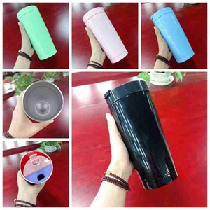 20oz Skinny Tumblers Stainless Steel Straight Cups Water Bottle Coffee Mug Vacuum insulation Car Mug With Lid Straws And Brush ZZA2364 50Pcs