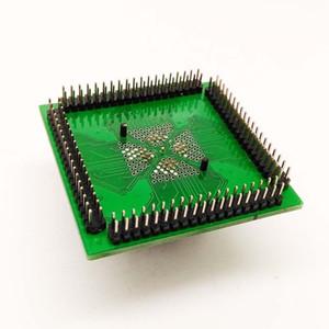 Soket Freeshipping QFN IC programcısı soket IC550-0324-007-G Pitch 0.5mm Kapaklı Çip Boyutu 5 * 5 Flaş Adaptörü QFN32 MLF32 Yanık
