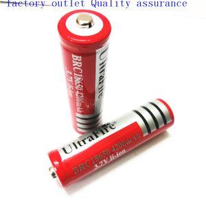 18650 UltreFire battery 18650 4200mAh بطارية ليثيوم 3.7 فولت يمكن استخدامها في مصباح يدوي مشرق وهلم جرا.