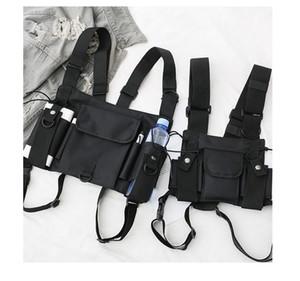 Sıcak liman rüzgar hip hop göğüs çantası yelek çanta ins taktik paket Alyx makinesi yiyebilir tavuk çanta göğüs kulesi