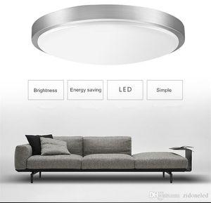 Modern Yuvarlak Işık Dia21cm 12W Yüzey Basit Fuaye Fikstür Çalışma Yemek yaşam Odası salonu Ev Koridor Aydınlatma Monteli Tavan LED